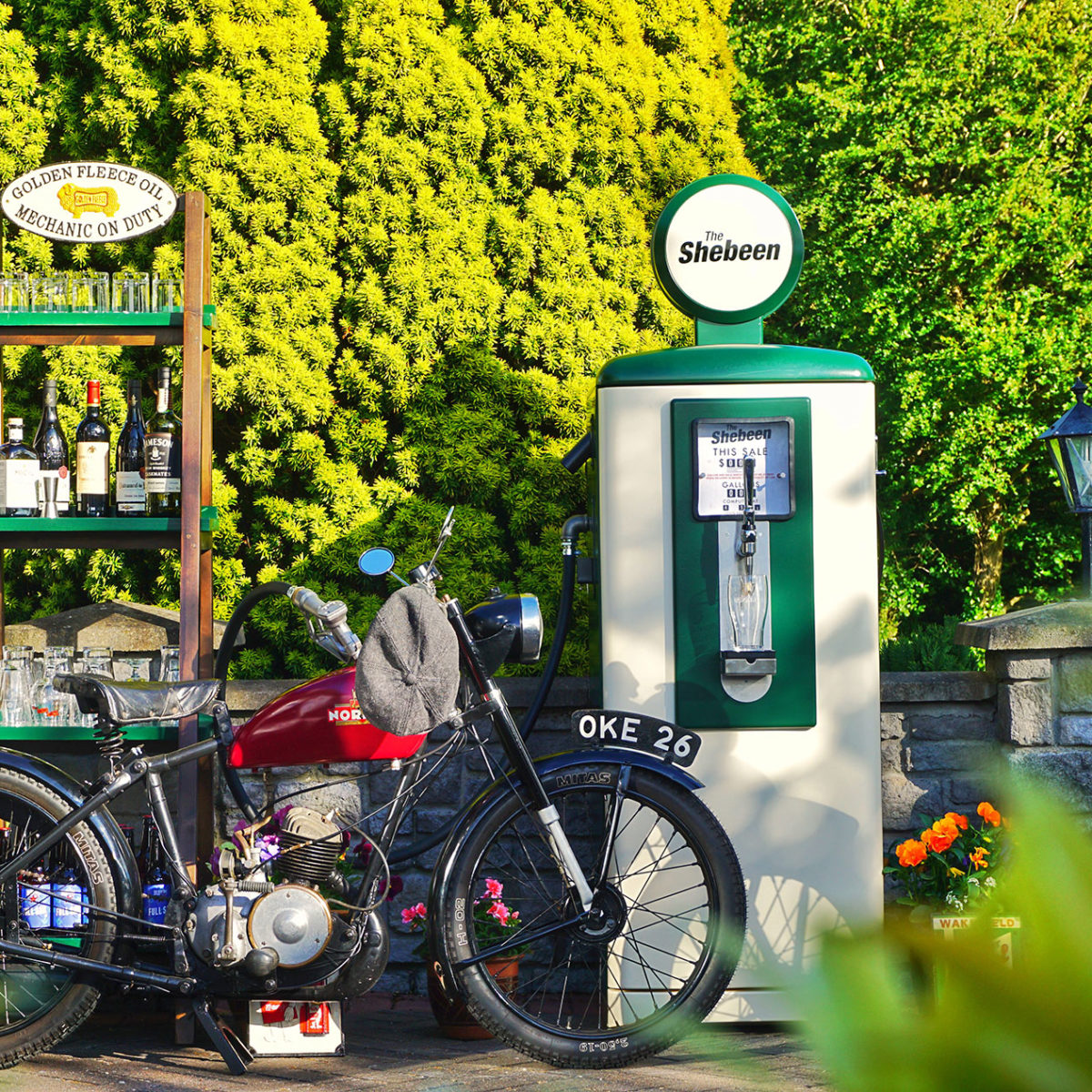 The Vintage Petrol Pump